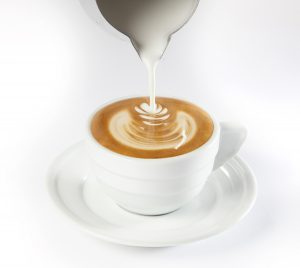 "Technique de ""Latte art"""